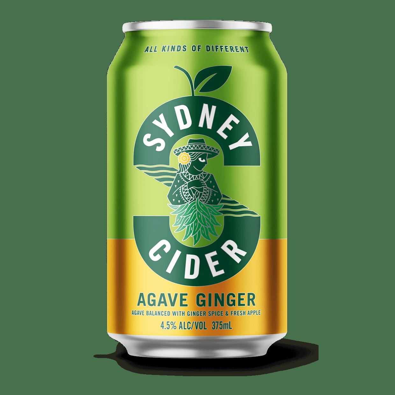 Agave Ginger Cider Sydney Brewery