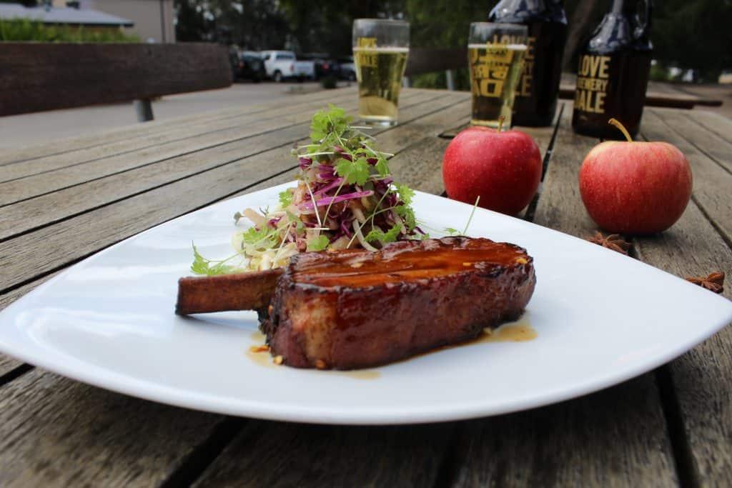 Dining at Sydney brewery hunter valley