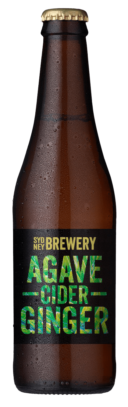 agave ginger cider bottles
