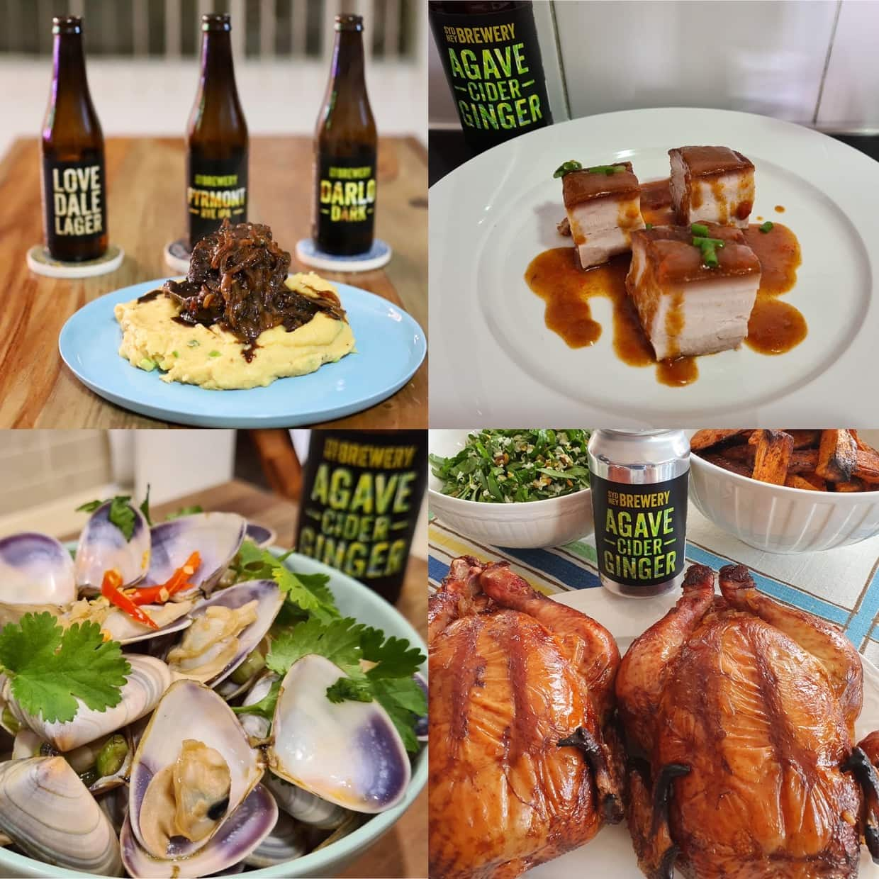 Sydney Brewery Cooking Competition winning recipes