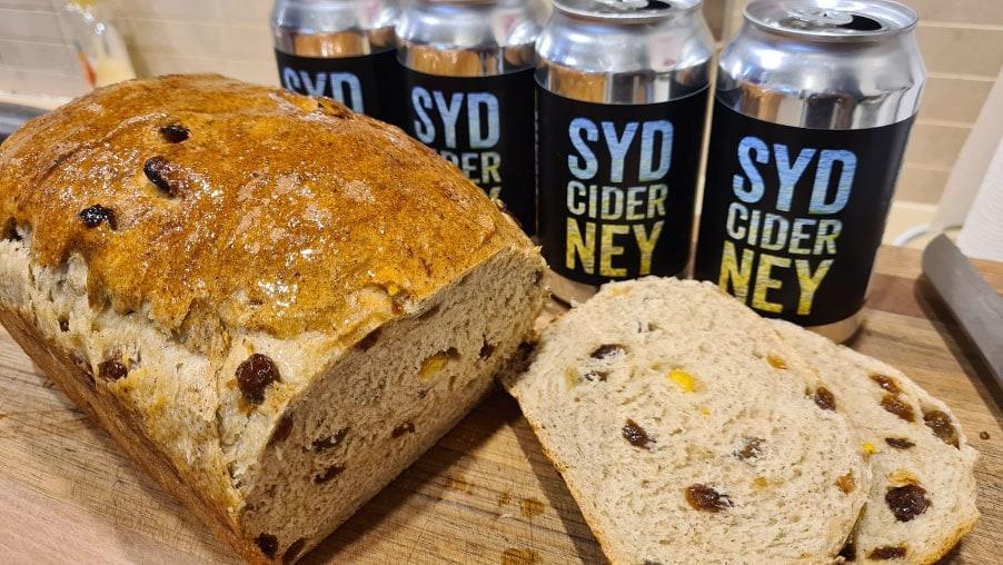 Cider Fruit Loaf Bread