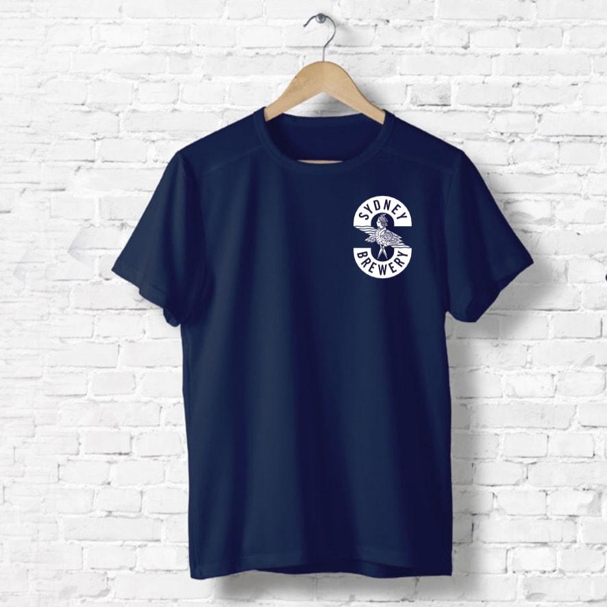Beer merchandise navy blue t-shirt