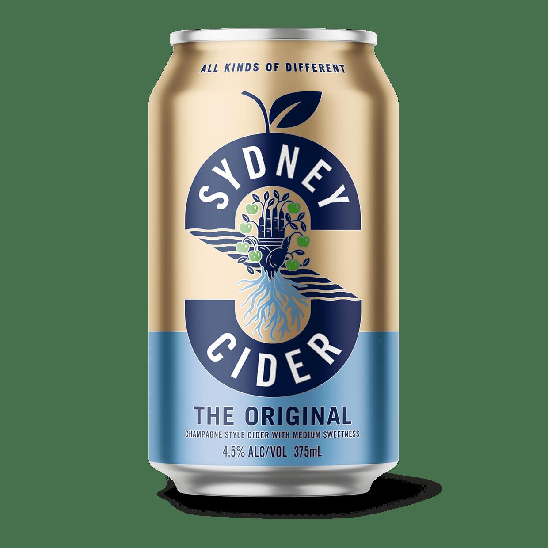 Sydney Cider - Cans of the original Sydney Cider