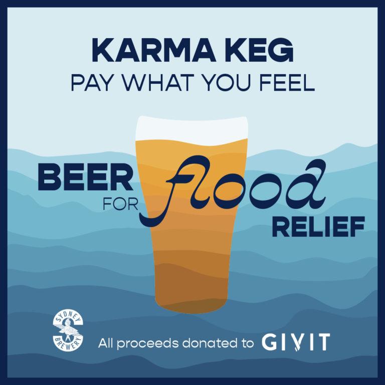 Flood Relief - Sydney Brewery