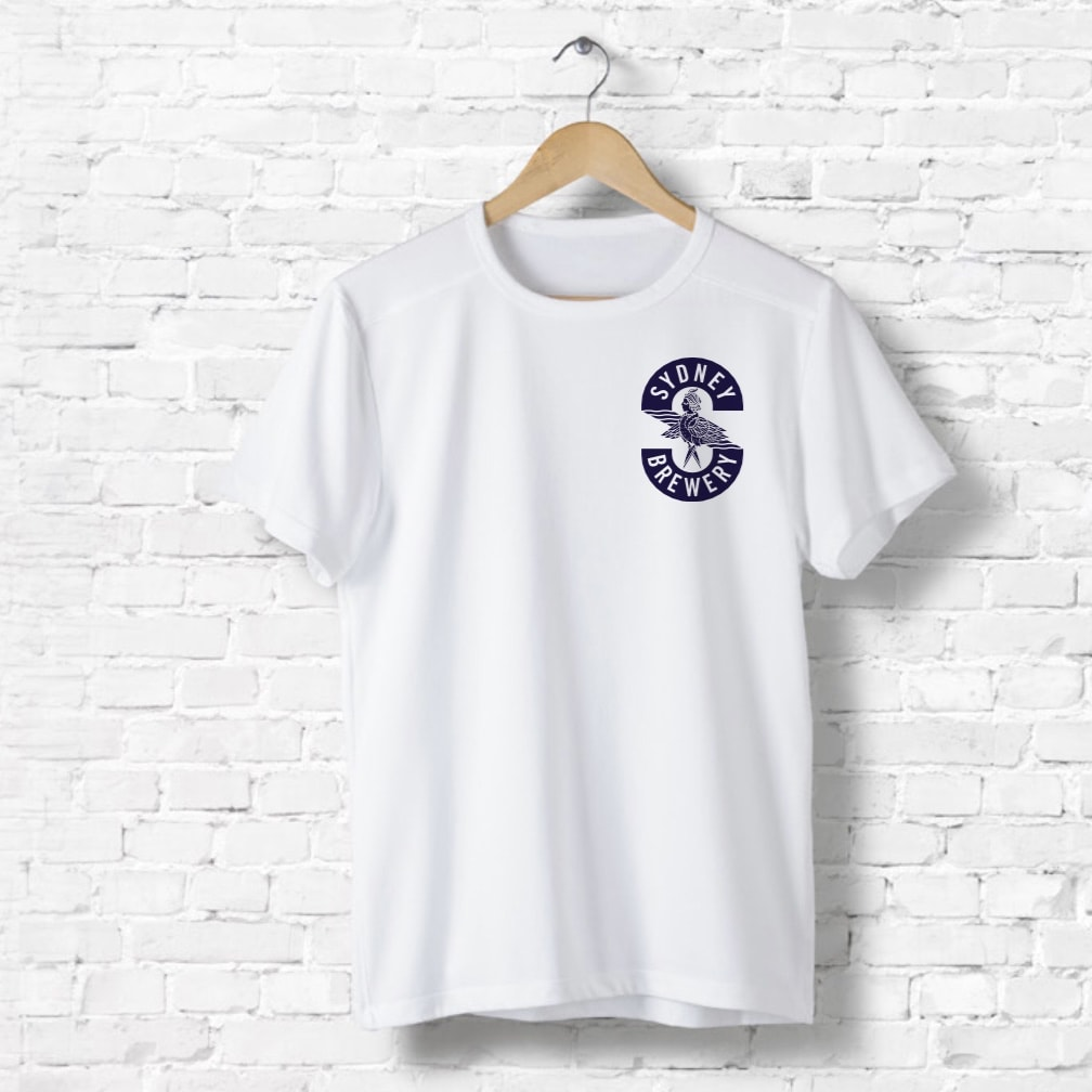 Sydney brewery merchandise t-shirt front