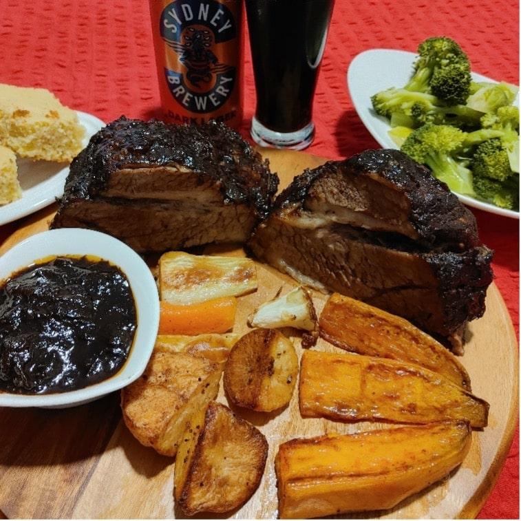 Dark Lager Beef Brisket