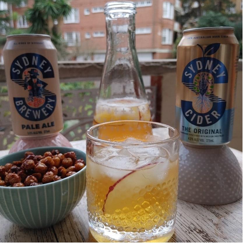 Beer & Honey roasted chickpeas recipe